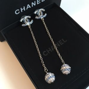 Chanel long earrings